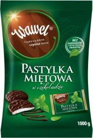 Pastylki miętowe Wawel w czekoladzie, 1kg