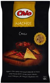 Chipsy Nachos Chio, chili, 190g