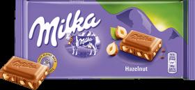 Czekolada Milka, orzechowa, 100g