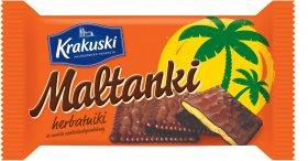 Herbatniki Krakuski Maltanki, czekoladowy, 80g