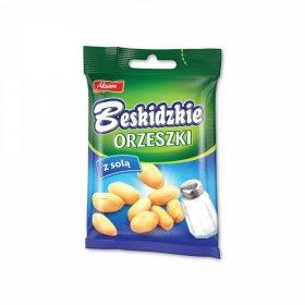 Orzeszki ziemne Beskidzkie Aksam, z solą, 70 g