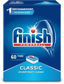 Tabletki do zmywarek Finish Classic, regular, 60 sztuk