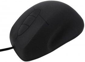 Mysz przewodowa wodoodporna LogiLink ID0163, optyczna, czarny