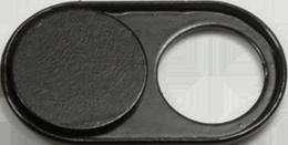 Osłona kamery internetowej LogiLink, do laptopa/smartfona/tableta, czarny
