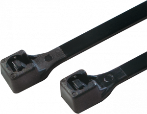 Opaski zaciskowe LogiLink, 15cm, 100 sztuk, czarny