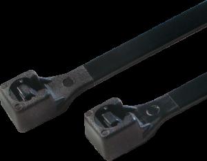 Opaski zaciskowe LogiLink, 20cm, 100 sztuk, czarny