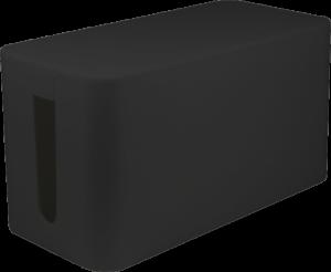 Organizer do kabli LogiLink Cable Box, 235x115x120mm, czarny