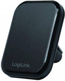 Uchwyt samochodowy LogiLink, Air Vent Mount, magnetyczny, na telefon, czarny