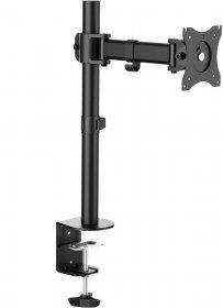 Uchwyt na biurko LCD/LED VESA LogiLink, do 8 kg, 100x100mm, dł.ramienia 274mm, 13-27
