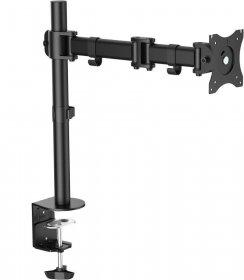 Uchwyt na biurko LCD/LED VESA LogiLink, do 8 kg, 100x100mm, dł.ramienia 428mm, 13-27