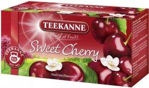 Herbata owocowa w kopertach Teekane Sweet Cherry, wiśnia, 20 sztuk x 2.5g