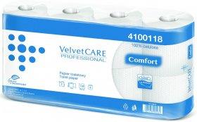 Papier toaletowy Velvet Care Professional, 2-warstwowy, 15m, 8 rolek, biały