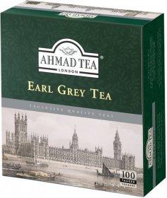 Herbata Earl Grey czarna w torebkach Ahmad Tea, 100 sztuk x 2g