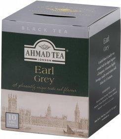 Herbata Earl Grey czarna w kopertach Ahmad Tea London, 10 sztuk x 2g