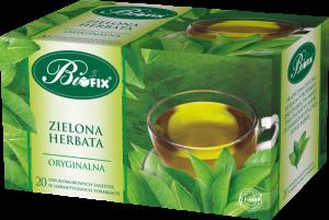 Herbata zielona w kopertach Bifix Premium, 20 sztuk x 2g