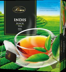 Herbata czarna w torebkach Bifix Indis, 100 sztuk x 2g