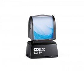 Pieczątka flashowa Colop EOS 10, obudowa czarna, wkład czarny