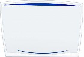 Podkład na biurko Cep Ice, 65.6x44.8cm, transparentny