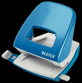 Dziurkacz biurowy Leitz New NeXXt, duży, do 30 kartek, jasnoniebieski