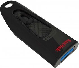 Pendrive SanDisk Cruzer Ultra, 128GB USB, 3.0, czarny