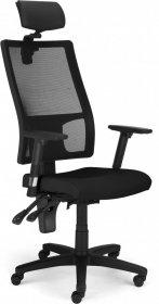 Krzesło obrotowe Nowy Styl EF019 Cooper Mesh HRUA, czarny