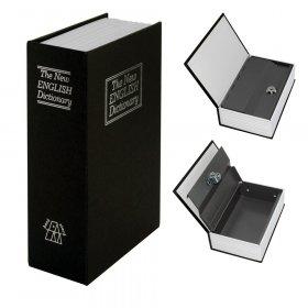 Sejf książkowy Hama BS-180, 11.5x5.5x18cm, czarny