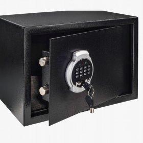 Sejf meblowy Hama, Premium EP-250, 35x25x25cm, czarny
