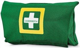 Apteczka osobista Cederroth First Aid Kit, small, z wyposażeniem, zielony