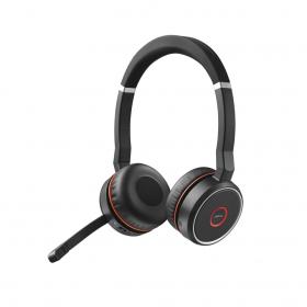 Słuchawki bezprzewodowe Jabra Evolve 75 UC, bluetooth, czarny