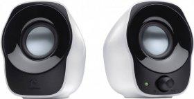 Głośniki Logitech Z120, czarno-biały