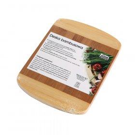 Deska do krojenia Altom Design, 21x16x1.5cm, bambusowa, brązowy