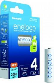 Akumulator Panasonic Eneloop, AA, 1900mAh, 4 sztuki