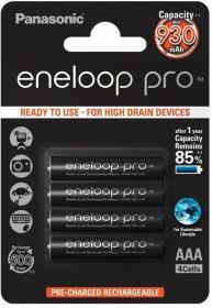 Akumulator Panasonic Eneloop Pro, AAA, 930mAh, 4 sztuki