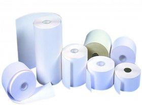Rolka papierowa termiczna Emerson, 57mm x 15m, 50+/- 6g/m2, biały
