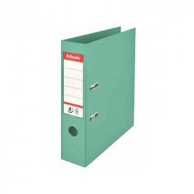 Segregator Esselte No.1 Colour'Ice, A4, szerokość grzbietu 75mm, do 500 kartek, zielony