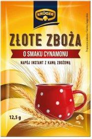 Kawa zbożowa Krüger Złote Zboża, 25 saszetek x 12.5g, cynamonowy