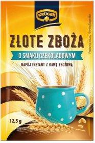Kawa zbożowa Krüger Złote Zboża, 25 saszetek x 12.5g, czekoladowy
