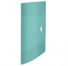 Teczka plastikowa z gumką Esselte Colour'Ice, A4, 15 mm, niebieski