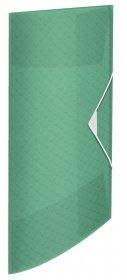 Teczka plastikowa z gumką Esselte Colour'Ice, A4, 15 mm, zielony