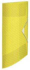 Teczka plastikowa z gumką Esselte Colour'Ice, A4, 15 mm, żółty