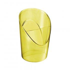Kubek na długopisy Esselte Colour'Ice, 100x125mm, żółty