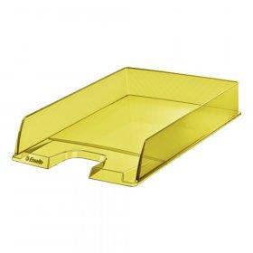 Półka na dokumenty Esselte Colour'Ice, A4, plastikowa, żółty