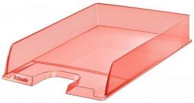 Półka na dokumenty Esselte Colour'Ice, A4, plastikowa, brzoskwiniowy