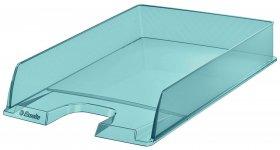 Półka na dokumenty Esselte Colour'Ice, A4, plastikowa, niebieski
