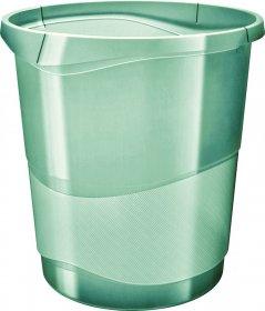 Kosz na śmieci Esselte Colour'Ice, 14l, zielony
