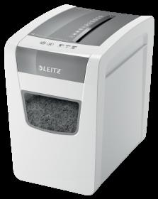 Niszczarka Leitz IQ Home Office Slim P4, konfetti 4x28mm, 10 kartek, DIN P4, biały