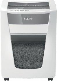 Niszczarka Leitz IQ Office Pro P5+, mikrościnek 2x5mm, do 7 kartek, DIN P5, biały