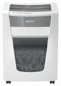 Niszczarka Leitz IQ Office Pro P5, ścinek 2x15mm, do 15 kartek, DIN P5, biały
