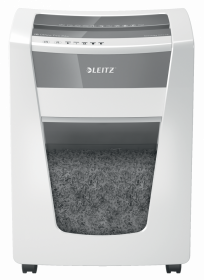 Niszczarka Leitz IQ Office Pro P6+, supermikrościnek 1x5mm, 5 kartek, P-6 DIN, biały