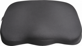 Poduszka na krzesło Kensington, ergonomiczna, czarny